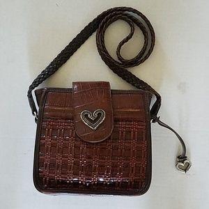 Brighton Authentic Leather Crossbody Handbag